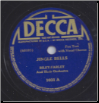 Jingle Bells / Santa Claus is Comin' To Town, Riley-Farley Orchestra on Decca.  $5.00 plus S/H