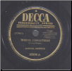White Christmas / A La Valse by Jascha Heifetz on Decca.  $3.00 plus S/H