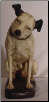 Reproduction Full-size RCA Nipper Plaster Dog.  $75.00 plus S/H