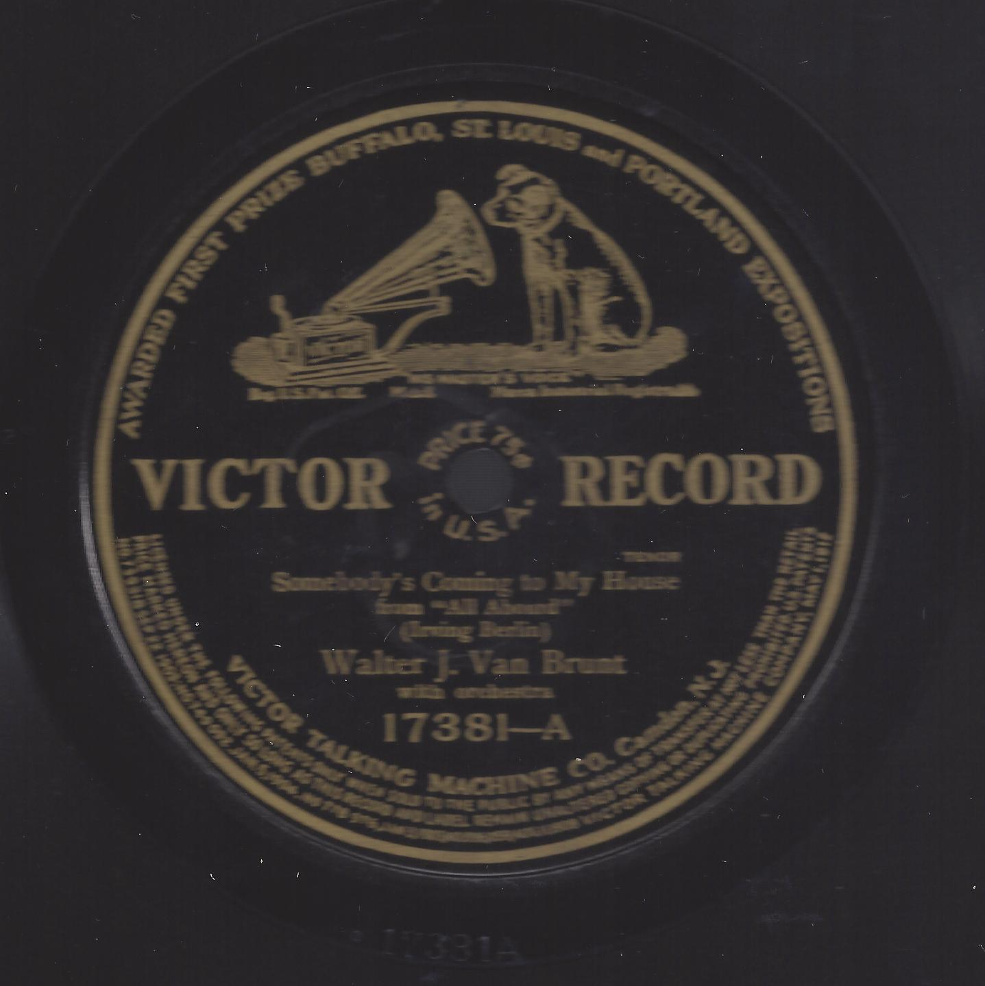 Dating victor 78 records