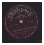 O Little Town of Bethlehem / Hark, The Herald Angels Sing.  $2.00 plus S/H