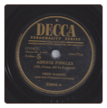 Adeste Fideles / Cantique De Noel by Fred Waring on Decca.  $5.00 plus S/H