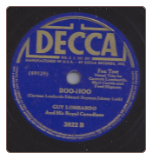 Boo Hoo / Ma! I Miss Your Apple Pie by Guy Lombardo on Decca.  $3.50 plus S/H
