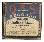 Indiana Moon, Marimba Waltz, Written by Jones, played by Scott and Watters on a Recordo roll.  $4.50 plus S/H