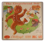 The Gingerbread Boy .  Mercury Childcraft record.  $3.00 plus S/H