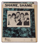 Shame Shame - Sheet Music.  Copyright 1967-1968.  $5.00 plus S/H