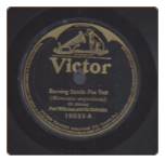 Burning Sands / Falling,  Paul Whiteman on Victor.  $3.00 plus S/H