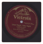 Silent Night Holy Night on Victrola label.  $7.00 plus S/H