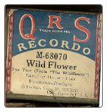 Wildflower Fox Trot, Written by Youmans - Stothart, played by Herbert Clair on a Recordo roll.  $5.00 plus S/H