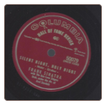 Silent Night, Holy Night / Adeste Fideles.  Frank Sinatra on Columbia.  $5.00 plus S/H