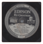 Hot Lips Fox Trot / Love Sends a Gift of Roses Waltz by Ernest L Stevens Trio Edison Diamond Disc  $7.00 plus S/H