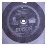 O Holy Night / Silent Night on Edison Diamond Disc  $20.00 plus S/H