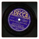 The Big Crash From China / Coquette by Bob Crosby's Bob Cats on Decca.  $2.50 plus S/H