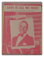 Love Is All We Need - Sheet Music.  Copyright 1958.  $3.50 plus S/H