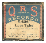 Love Tales, Written by Rose, played by Arden and Kortlander on a Recordo roll.  $4.50 plus S/H
