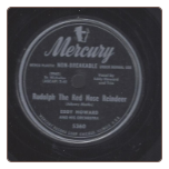 Rudolph The Red-Nosed Raindeer / My Last Goodbye by Eddy Howard.  $2.00 plus S/H