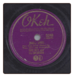 Jingle Bells / For He's A Jolly Good Fellow, Tiny Hill on Okeh.  $3.00 plus S/H