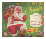 The Night Before Christmas / Christmas Carols by Caroleers.  $4 plus S/H